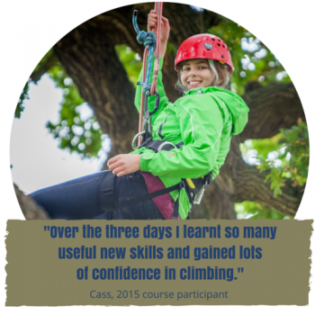 three day tree climbing course text