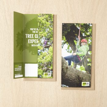 Goodleaf tree climbing gift vouchers