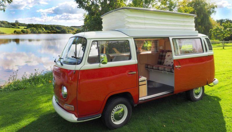 VW camper from Isle of Wight campervans places to stay on the Isle of Wight