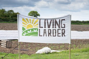 Picture from Living Larder's Open Farm Sunday - half term fun