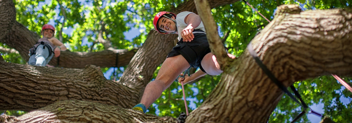 Essential recreational tree climbing header
