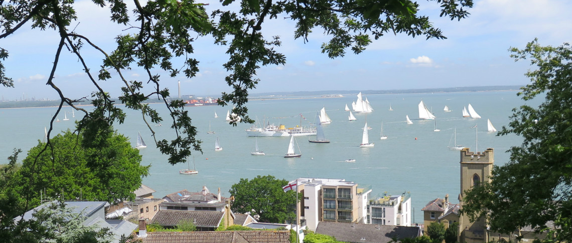 View of Cowes Week Sailing, Cowes Week Family Fun