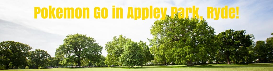 pokemon Go, appley park, ryde