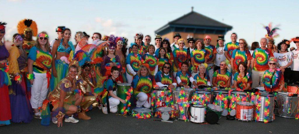 Ryde Carnival Samba band and perfomers