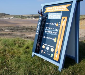 2 minute beach clean boards